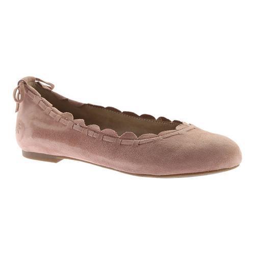 c3b5ecf8060af Women's Jack Rogers Lucie Ballet Flat Champagne Suede
