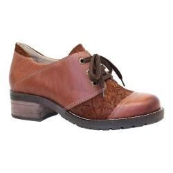 Women's Dromedaris Kalista Oxford Cognac Leather (5 options available)