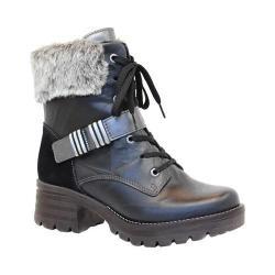 Women's Dromedaris Kameryn Fur Boot Black Leather