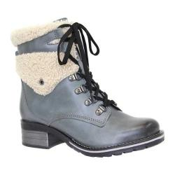 Women's Dromedaris Kara Shearling Boot Slate Leather