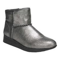Women's Naturalizer Julian Bootie Pewter Metallic Leather
