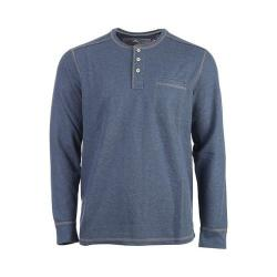 Men's Tommy Bahama Island Thermal Henley Shirt Cadet Heather