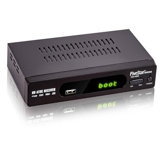FiveStar Digital Converter Box Analog with Record Pause Live TV