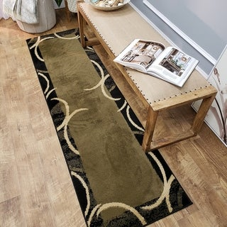 Maxy Home Pasha Contemporary Arches Multicolor 1 ft. 11 in. x 6 ft. 11 in. Rug Runner - 1'11 x 6'11