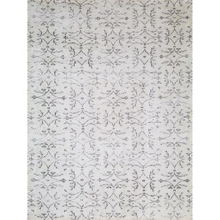 Maxy Home Valencia Contemporary Karinca Ivory 2 ft. 7 in. x 4 ft. 11 in. Area Rug