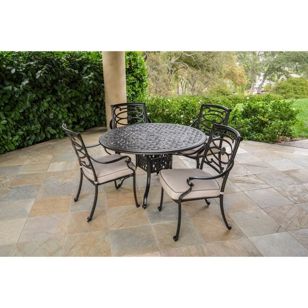 Shop Veranda Classics Carmen Stationary Dining Chairs Set Of 4