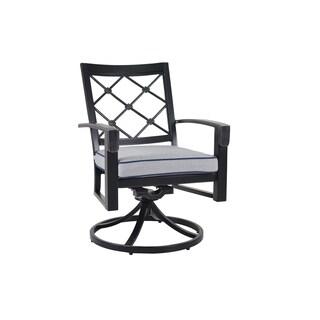 Verands Classics Bella Swivel Dining Chairs (Set of 2)