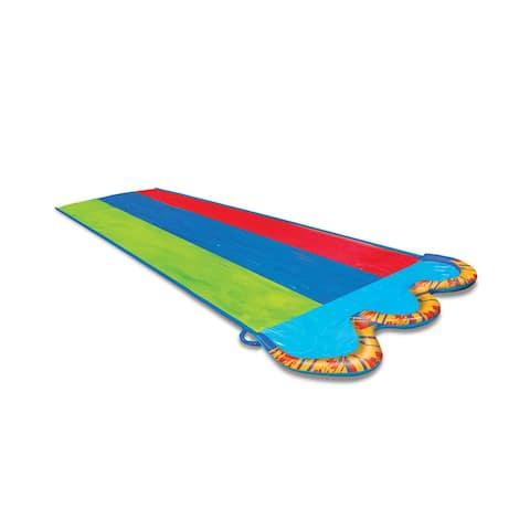Banzai Kids Triple Racer Water Slide- 16 feet long