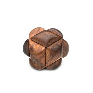 Handmade Wooden Knot Puzzle (India)