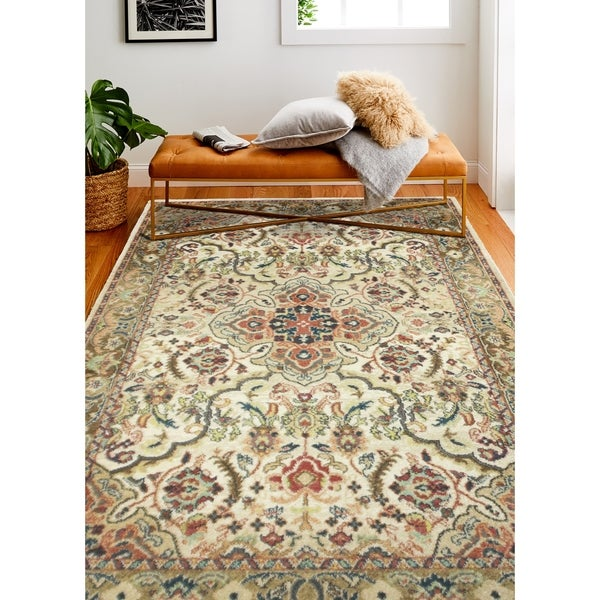 Bodhi Traditional Machine Made Area Rug. Opens flyout.
