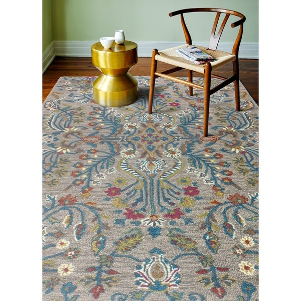 """Clifton Taupe Transitional Area Rug - 8'6"""" x 11'6"""""""