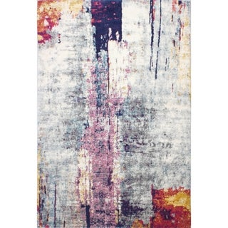 """Alina Silver Transitional  Area Rug - 3'6"""" x 5'6"""""""