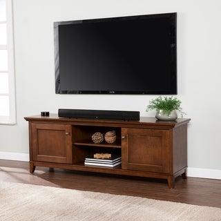 Copper Grove Heliotrope Whiskey Maple TV/ Media Stand
