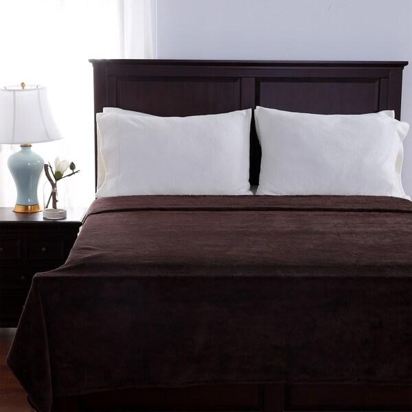 Berkshire Blanket and Home Fuzzy Plush Blanket