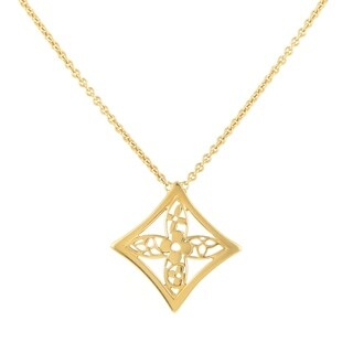 Louis Vuitton Idylle Blossom Women's Yellow Gold Pendant Necklace