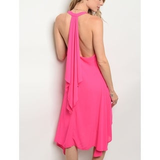 JED Women's Sleeveless Asymmetrical Casual Dress