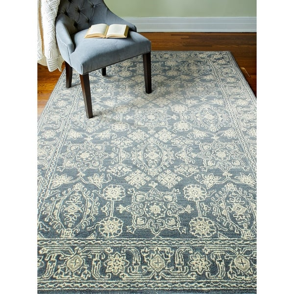 "Vera Azure Contemporary Area Rug - 5'6"" x 8'6"""