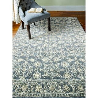 "Vera Azure Contemporary  Area Rug - 7'9"" x 9'9"""