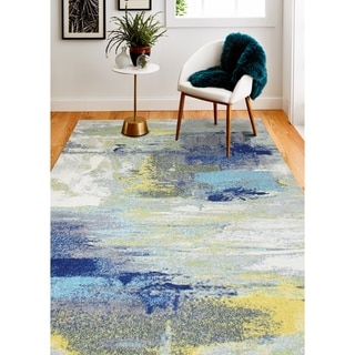 Link to Ari Transitional Machine Made Area Rug Similar Items in Industrial Rugs