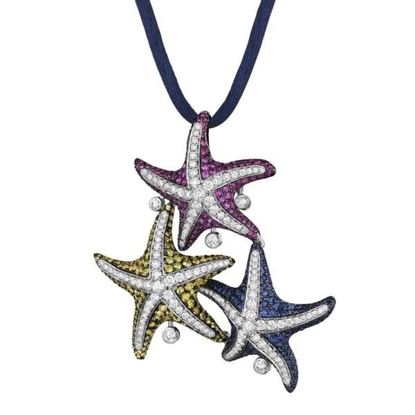 Maggioro white gold starfish pendant necklace pa4191 bz oo free maggioro white gold starfish pendant necklace pa4191 bz oo mozeypictures Choice Image