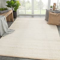 Juniper Home Castine Cream Natural Jute Area Rug - 9' x 12'