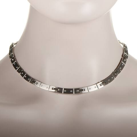 Pre-Owned Tiffany & Co. White Gold Diamond Collar Necklace