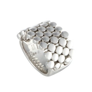 Chopard White Gold Flexible Band Ring