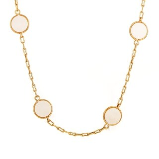 Van Cleef & Arpels Vintage Yellow Gold & Ivory Necklace