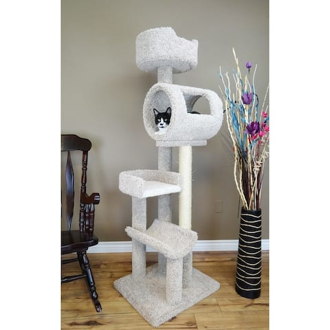 New Cat Condos Solid Wood Cat Climbing Tower