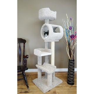 chic cat furniture homemade new cat condos solid wood climbing tower furniture find great supplies deals shopping at overstockcom