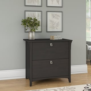 The Gray Barn Lowbridge Lateral File Cabinet in Vintage Black