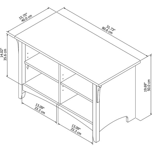 "The Gray Barn Lowbridge Shoe Storage Bench in Vintage Black - 31.73""L x 15.75""W x 19.69""H"
