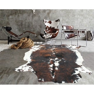 Brown Black White Real Natural Cowhide Rug Area Rugs