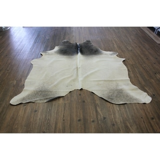 MIX GREYISH Real Natural Cowhide Rug Area Rugs