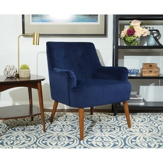Ave Six Chatou Mid-Century Tufted Arm Chair