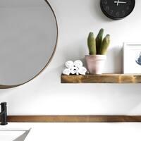 Solid Timber Floating Shelf