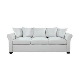 Classic Linen Upholstered Living Room Sofa