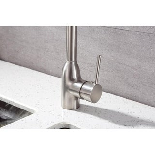 Runfine Single Handle Pull-DOWN Kitchen Faucet Brushed nickel finish
