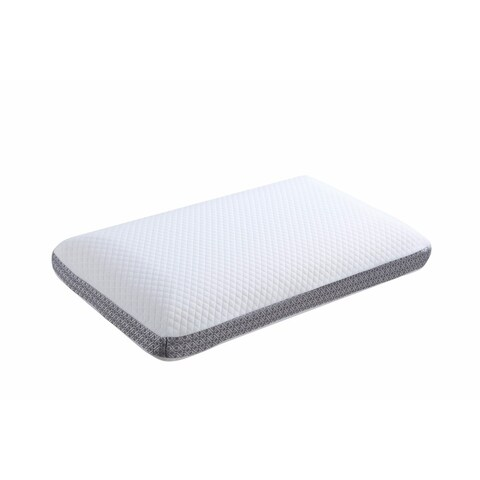 Queen Classic Memory Foam Pillow, White