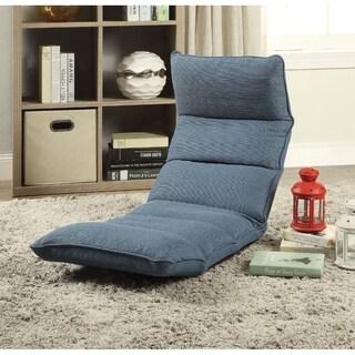 Enthusiastic Metal & Fabric Game Chair, Dark Teal Blue