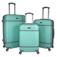 World Traveler American Collection 3-Piece Hardside Spinner Luggage Set