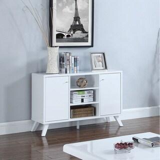 Chic Modern TV Stand, White