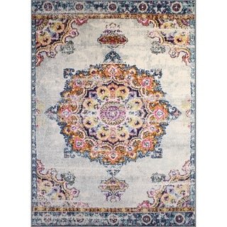 "Rug and Decor - Casba Collection - Multi-Color Traditional Area Rug - 9'2"" x 12'1"""