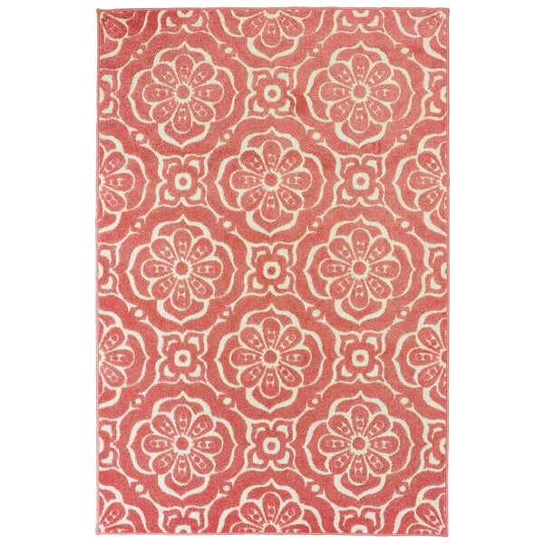 Port Clarence Floral Medallions Area Rug by Havenside Home. Opens flyout.