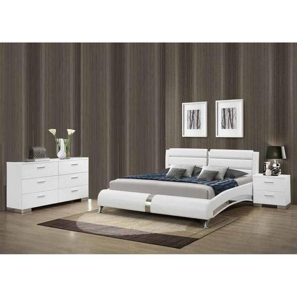 Contemporary Bedroom Furniture Sale: Shop Porter Contemporary 3-Piece Bedroom Set With Dresser