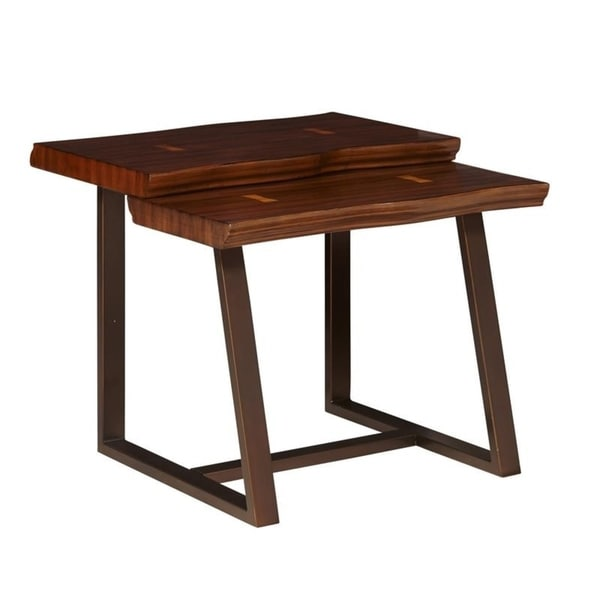 5367acb76bbd3d Shop Kempten Walnut Maple End Table - Free Shipping Today ...