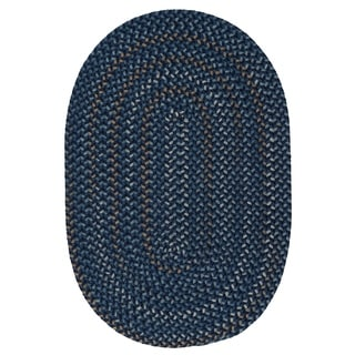 Seena Reversible Braided Oval Area Rug
