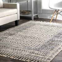 nuLOOM Contemporary Diamond Checkers Faded Area Rug