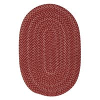 Seena Red Bliss Braided Area Rug - 8' x 10'