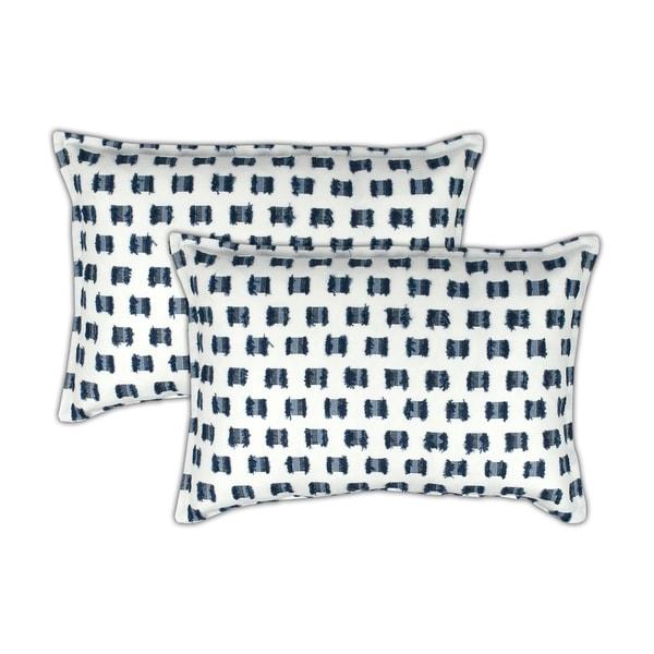 Sherry Kline O'Fifi Indigo Boudoir Decorative Pillow (set of 2)